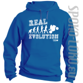 REAL EVOLUTION MOTORCYCLES - bluza z kapturem męska