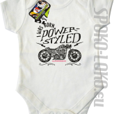 Motor I was born power styled - Body dziecięce